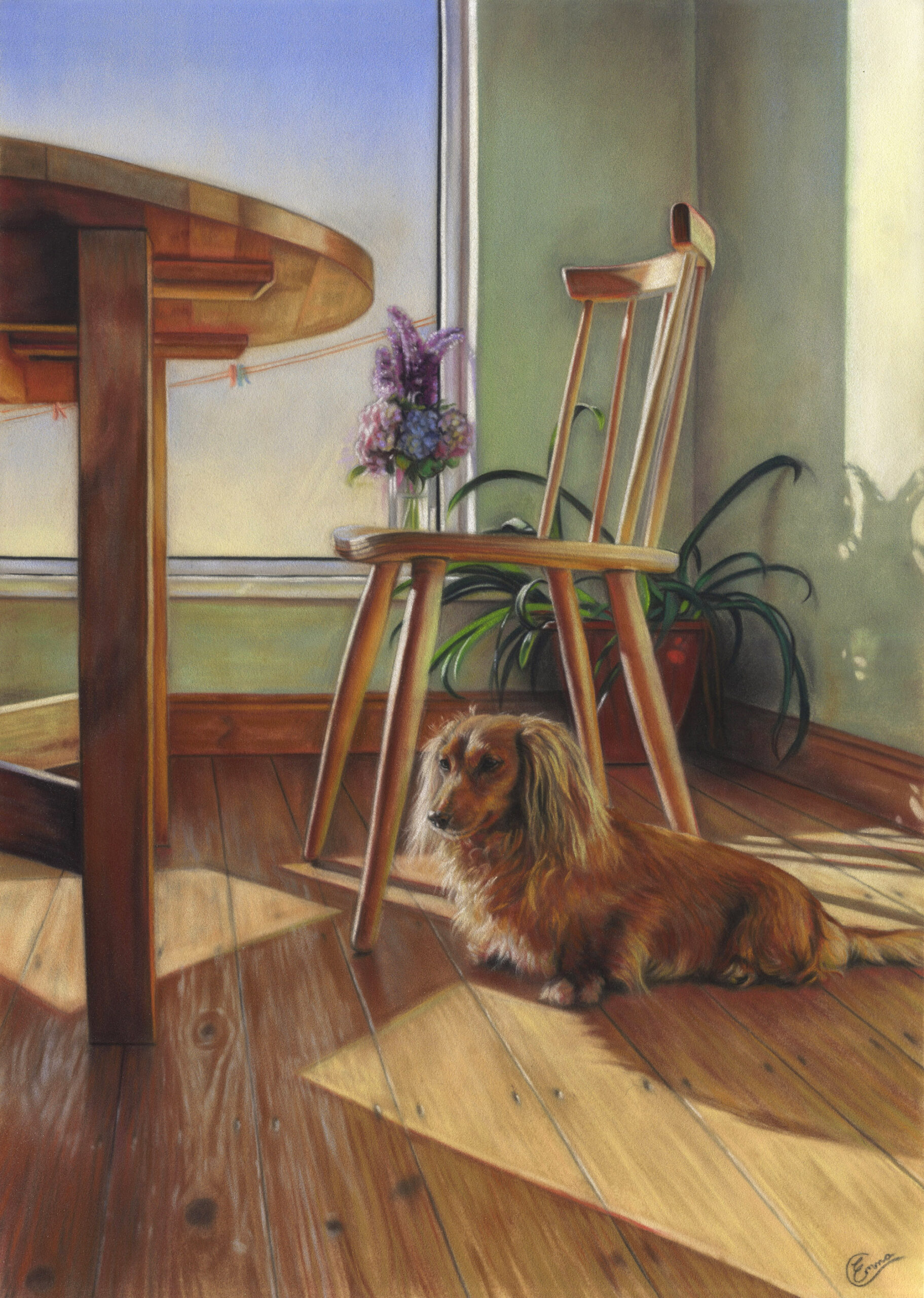 Sun Trap. Emma Colbert. Jackson's Painting Prize.