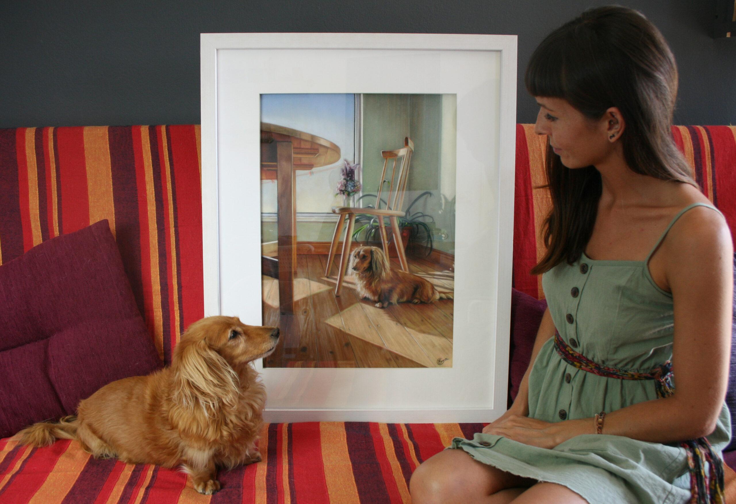 Suntrap. Emma Colbert. Jackson's Painting Prize.