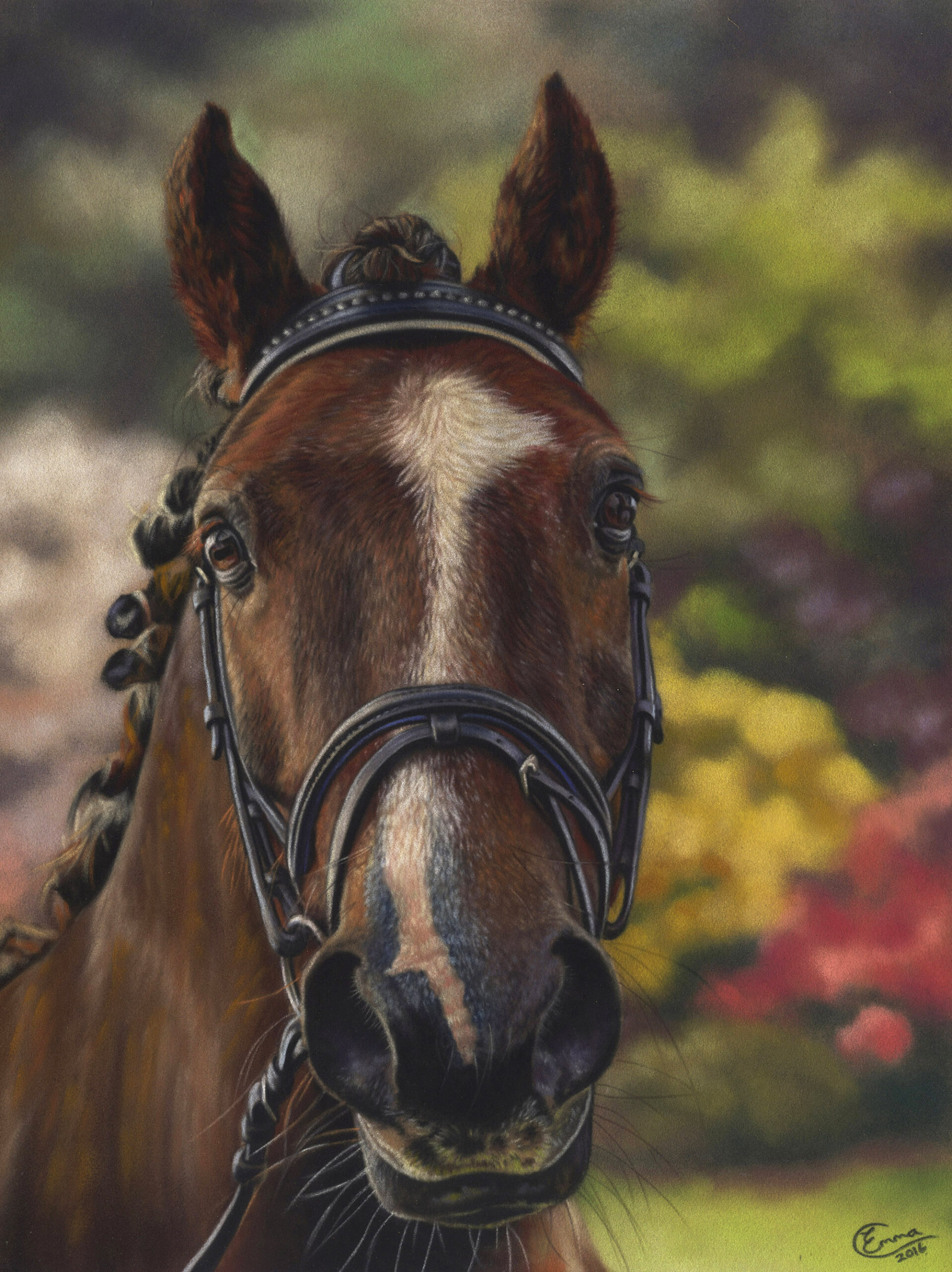 Horse Commission. Emma Colbert. Jackson's Painting Prize.