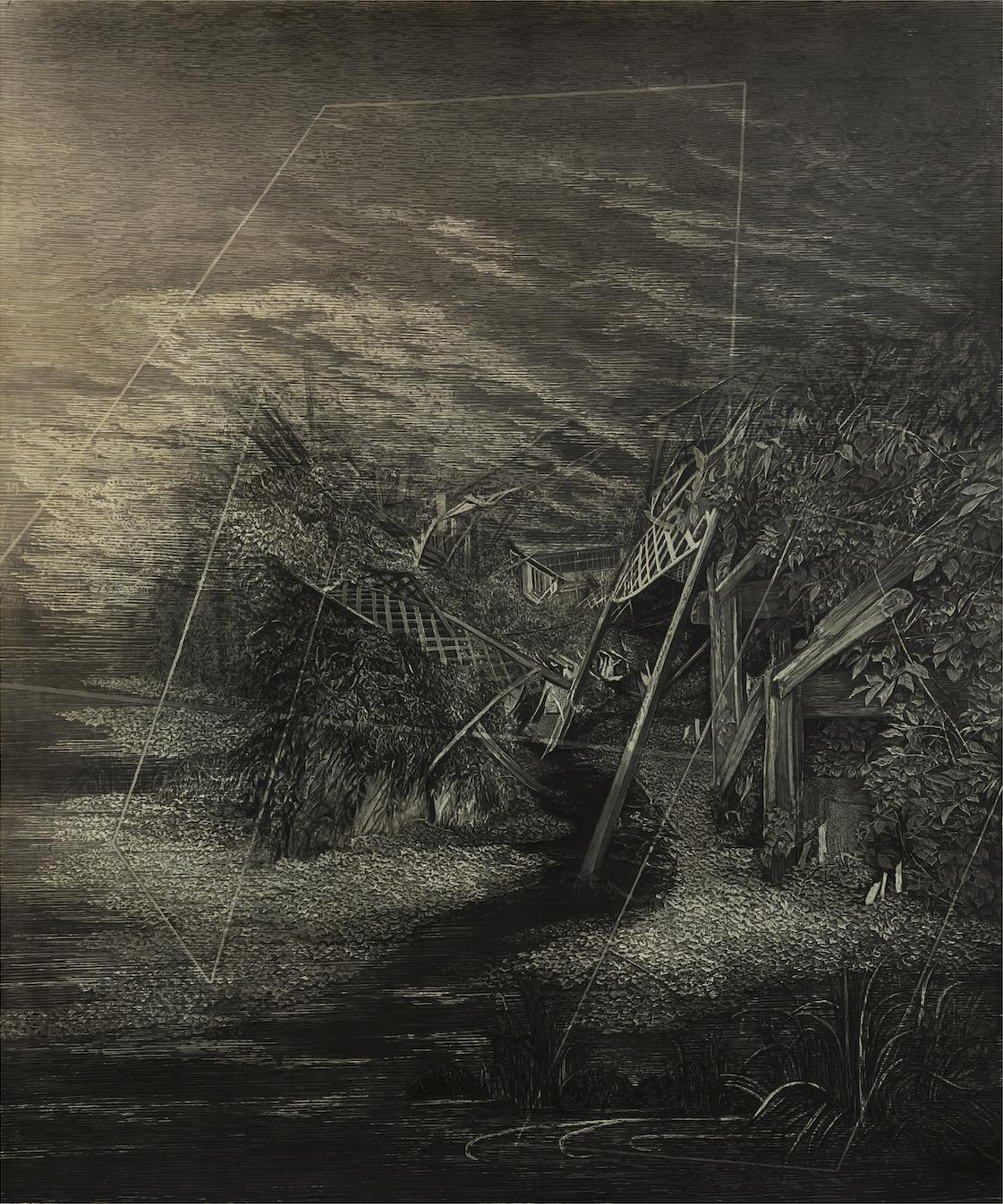Augurium. Juliette Losq. Jackson's Painting Prize.