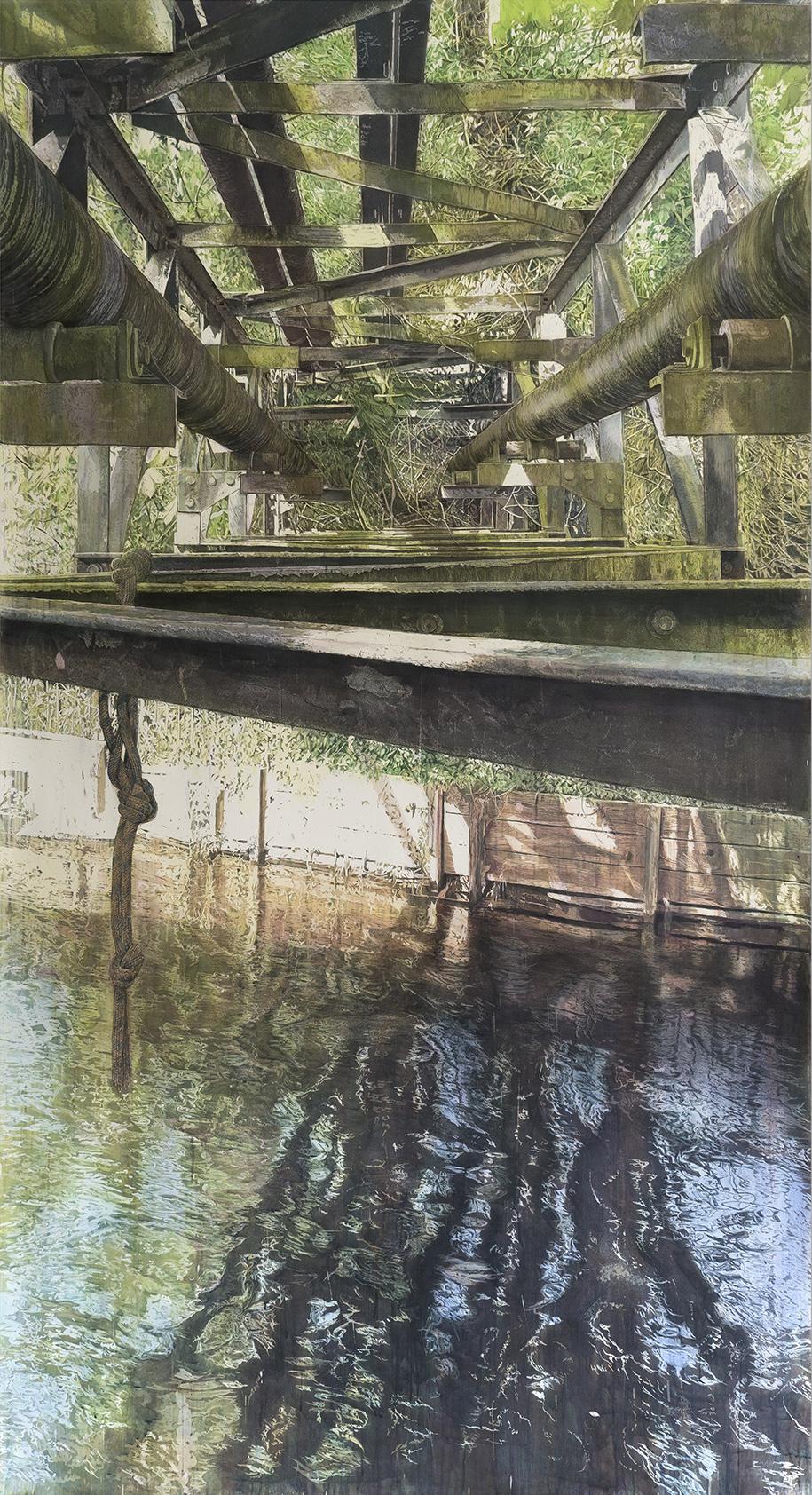 Equilibrium. Juliette Losq. Jackson's Painting Prize.