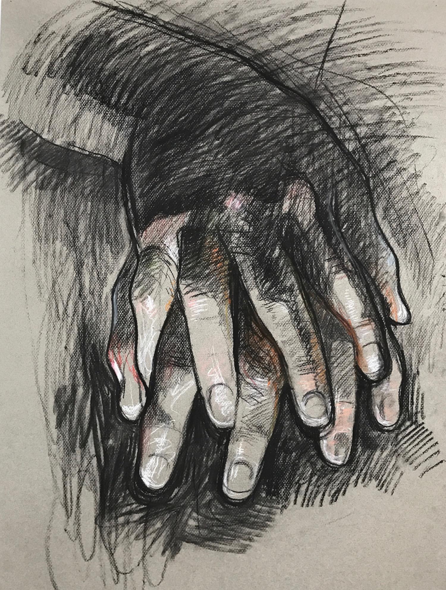 Bill Murphy. Hand Study.