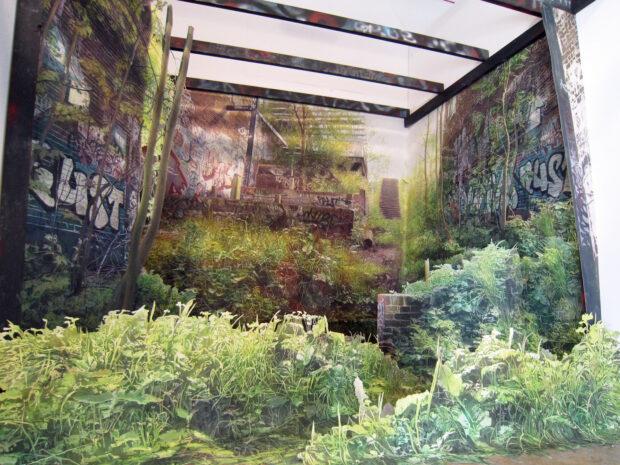 Proscenium. Juliette Losq. Jackson's Painting Prize.