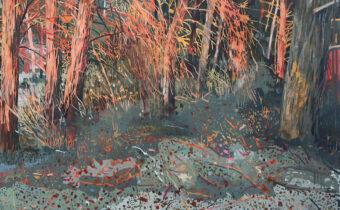 Sun Down. Conrad Clarke. Jackson's Painting Prize.