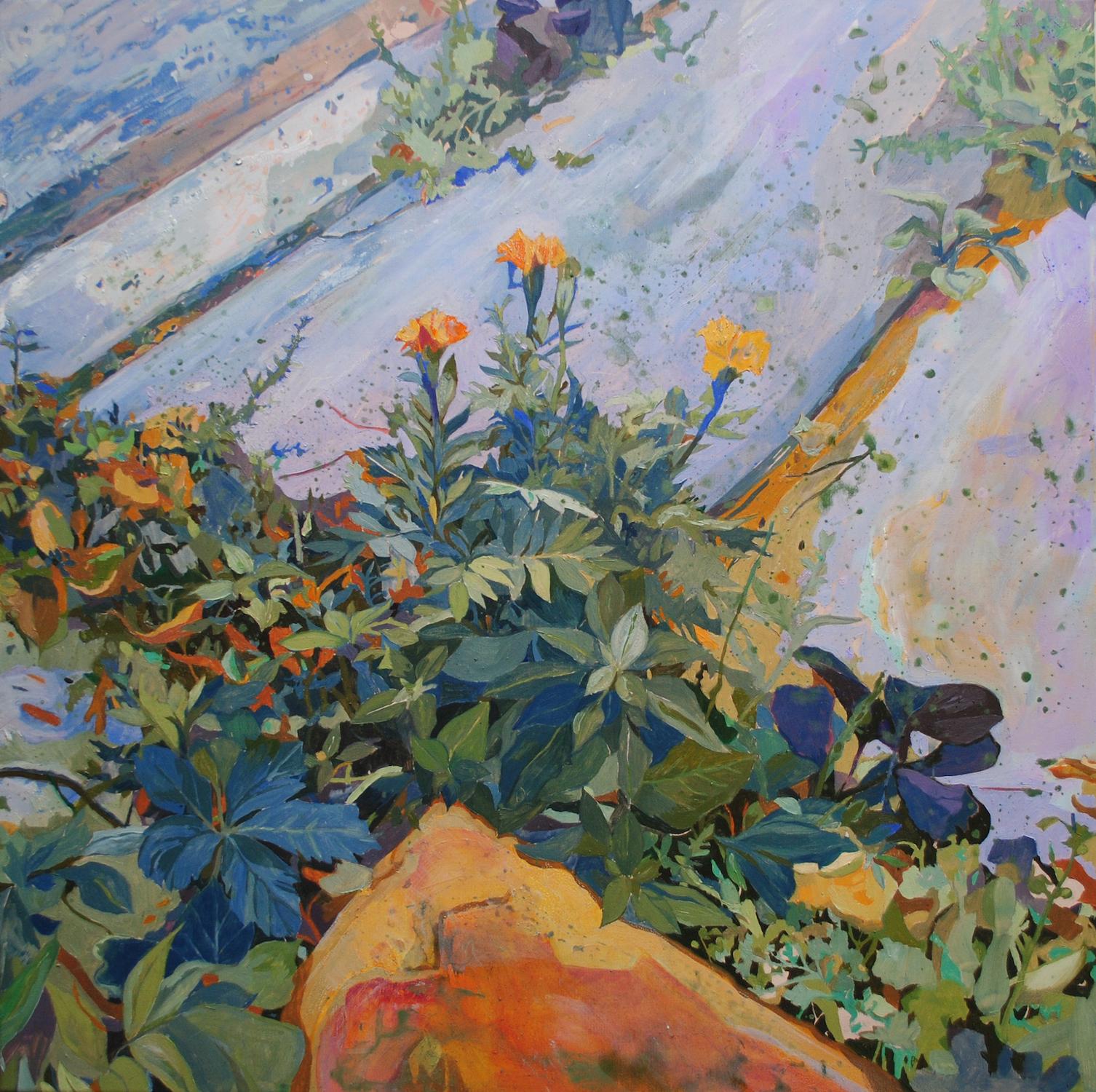 Weeds. Conrad Clarke. Jackson's Painting Prize.
