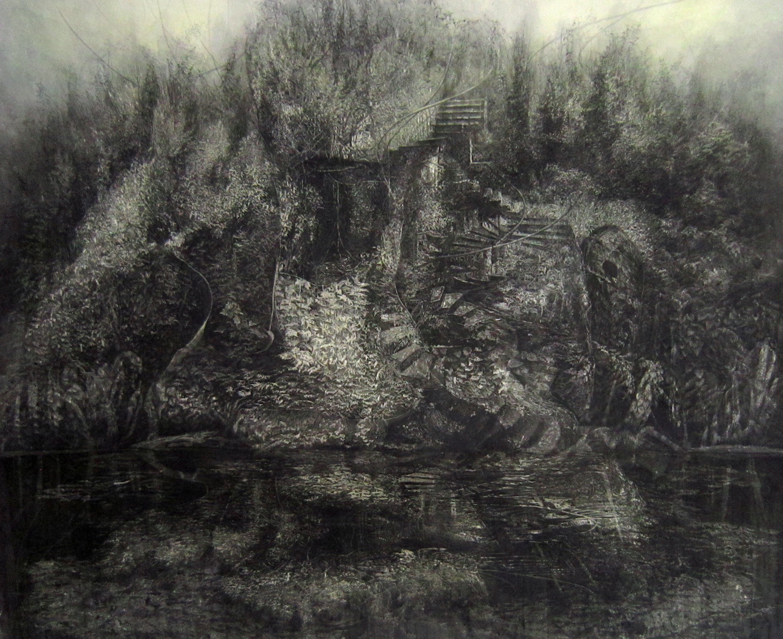 Spiralislet. Juliette Losq. Jackson's Painting Prize.
