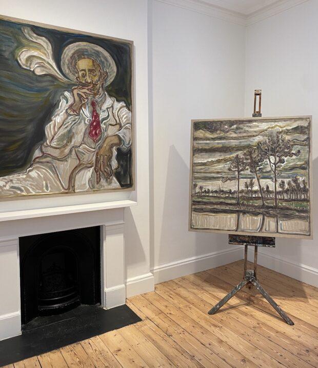 Elizabeth Dellert. Jackson's Painting Prize. Billy Childish.