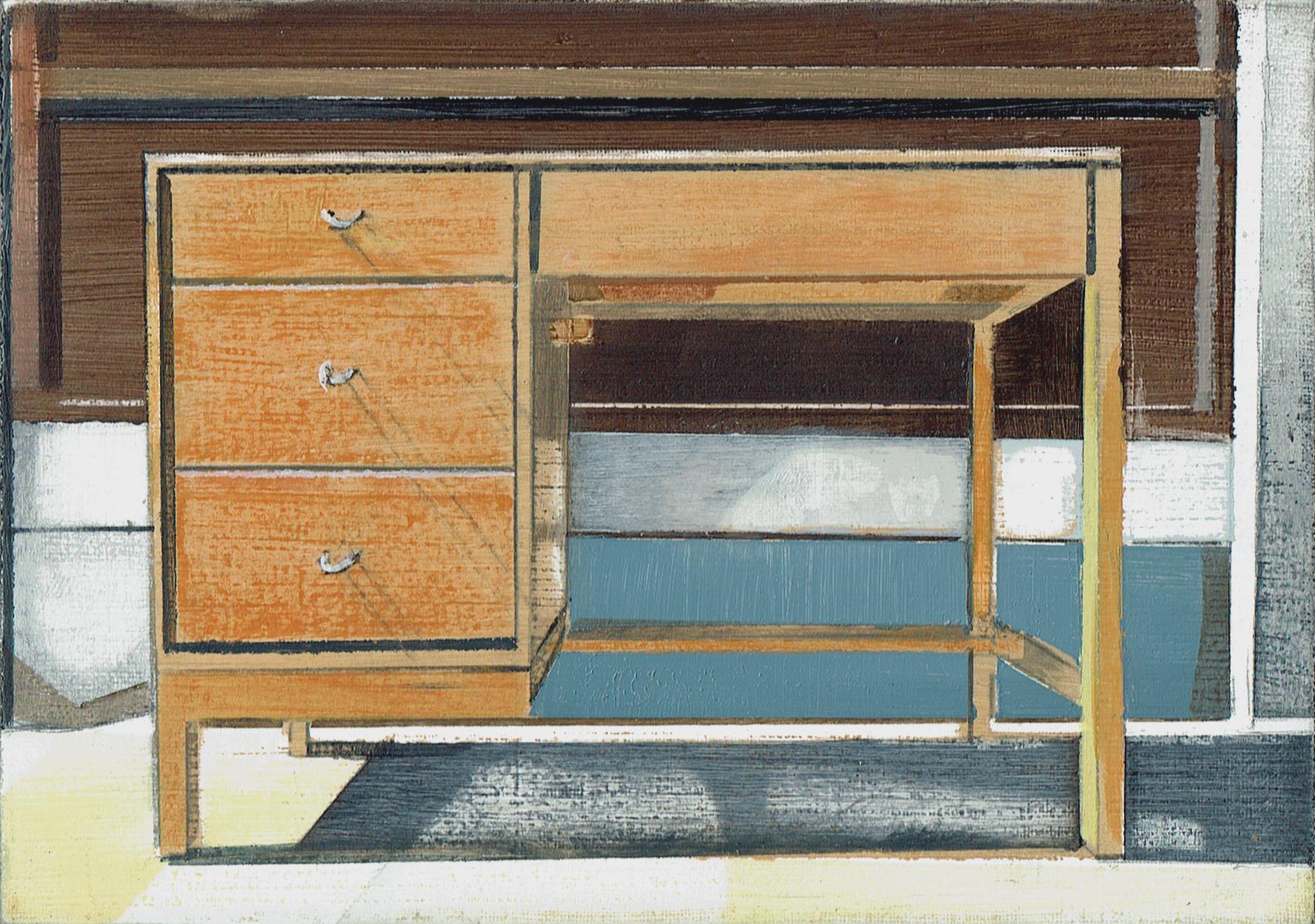 Desk 2. Richard Baker. Jackson's Painting Prize.