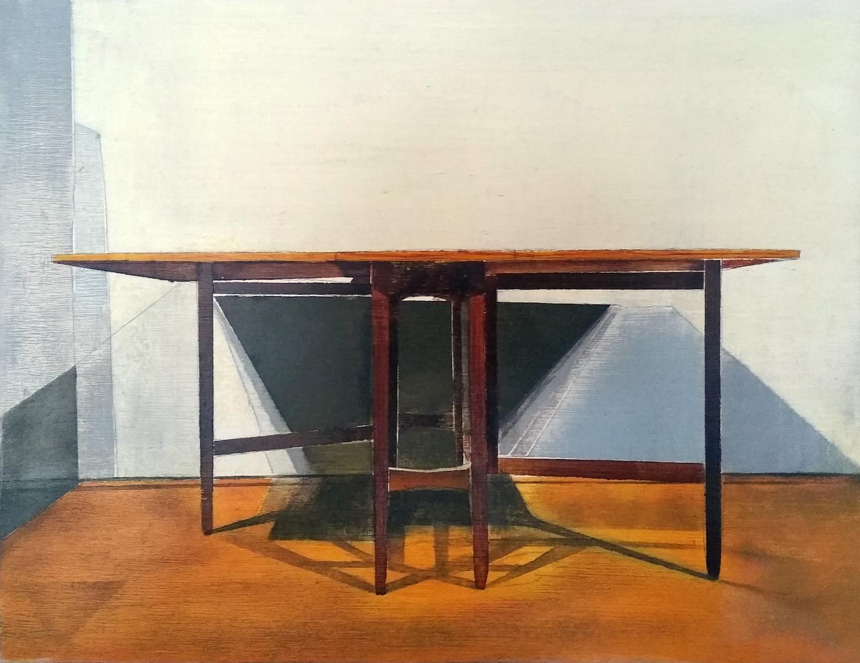 Drop leaf table. Richard Baker. Jackson's Painting Prize.