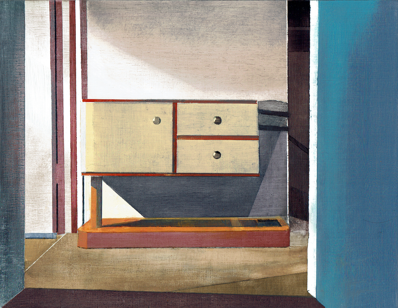 Hall stand. Richard Baker. Jackson's Painting Prize.