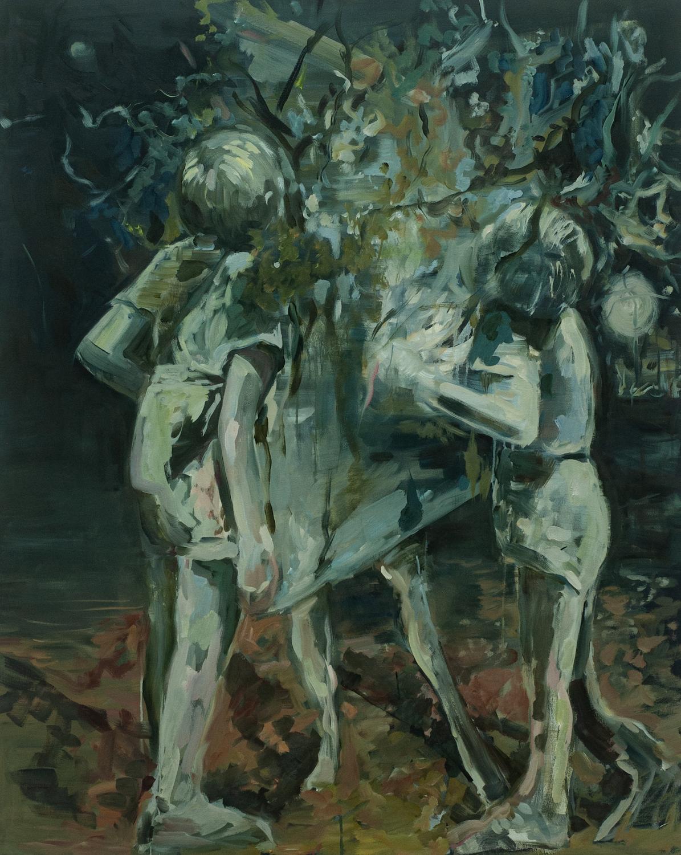 Laid them beneath the Juniper tree. Julia Medynska. Jackson's Painting Prize.