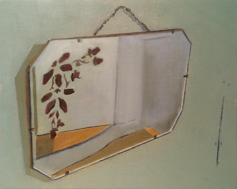Mirror. Richard Baker. Jackson's Painting Prize.