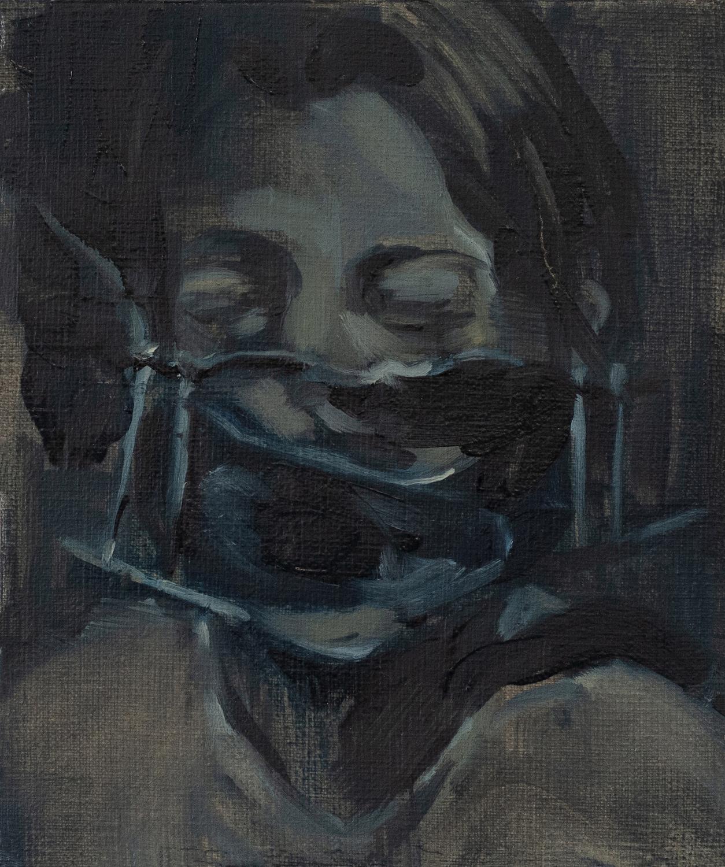 Neckbrace. Julia Medynska. Jackson's Painting Prize.