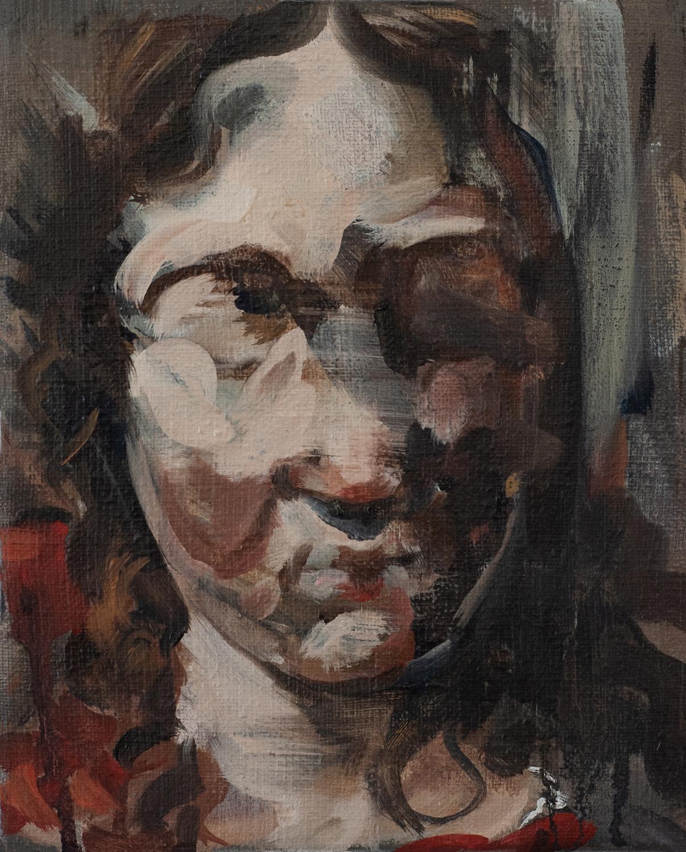 Pieta after Caravaggio. Julia Medynska. Jackson's Painting Prize.