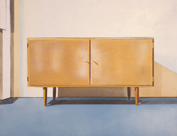 Sideboard. Richard Baker. Jackson's Painting Prize.