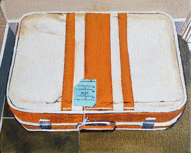 Suitcase. Richard Baker. Jackson's Painting Prize.