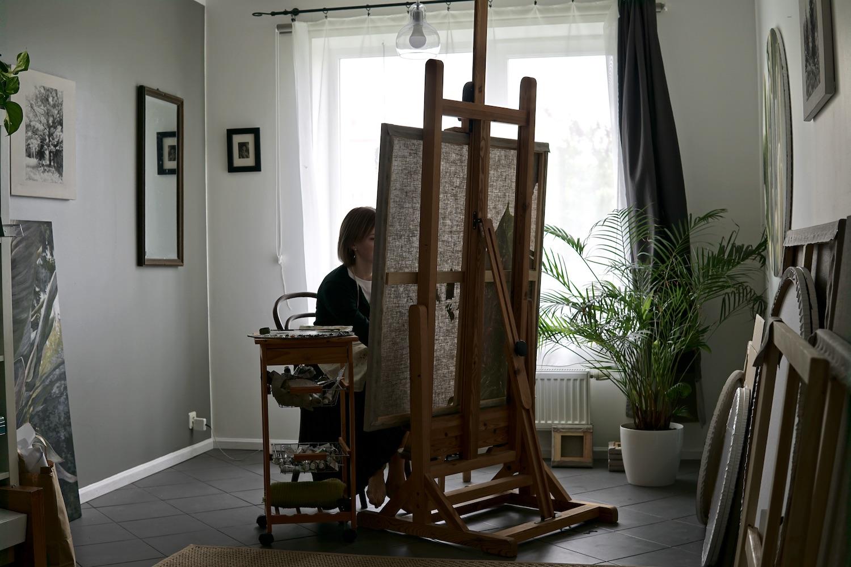 Ieva Kampe Krumholca. Jackson's Painting Prize.