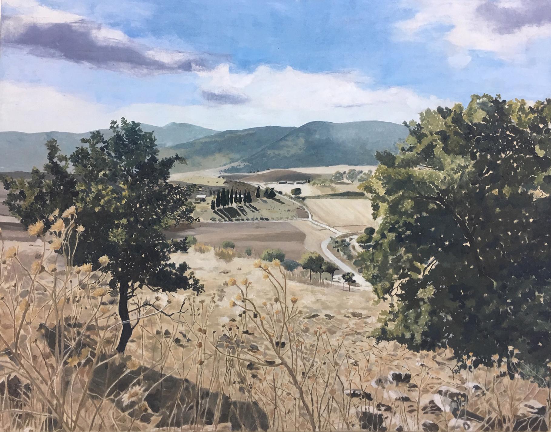 Mount Carmel I. Zohar Flax. Jackson's Painting Prize.