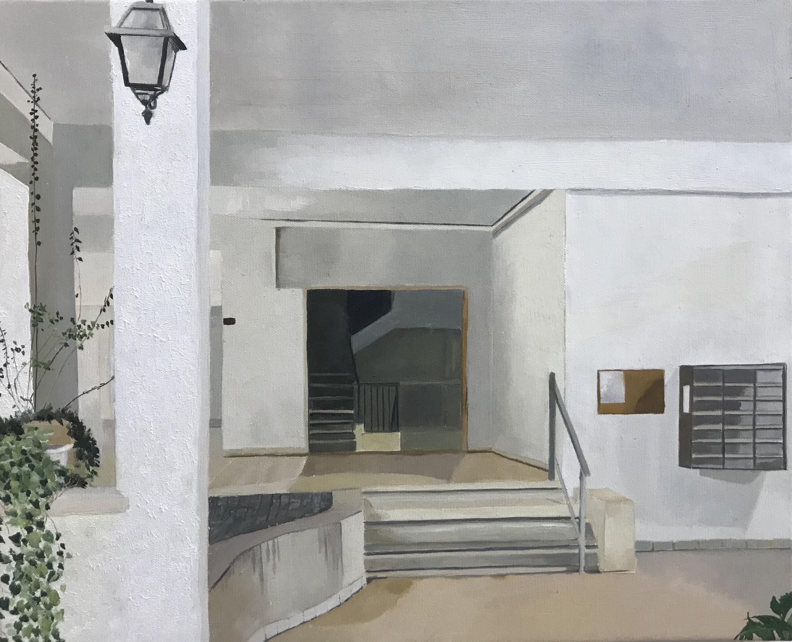 Tel Aviv, Entrance. Zohar Flax. Jackson's Painting Prize.