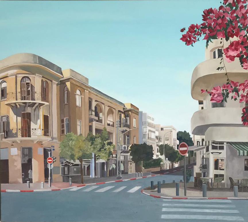 Tel Aviv, For Daphne. Zohar Flax. Jackson's Painting Prize.