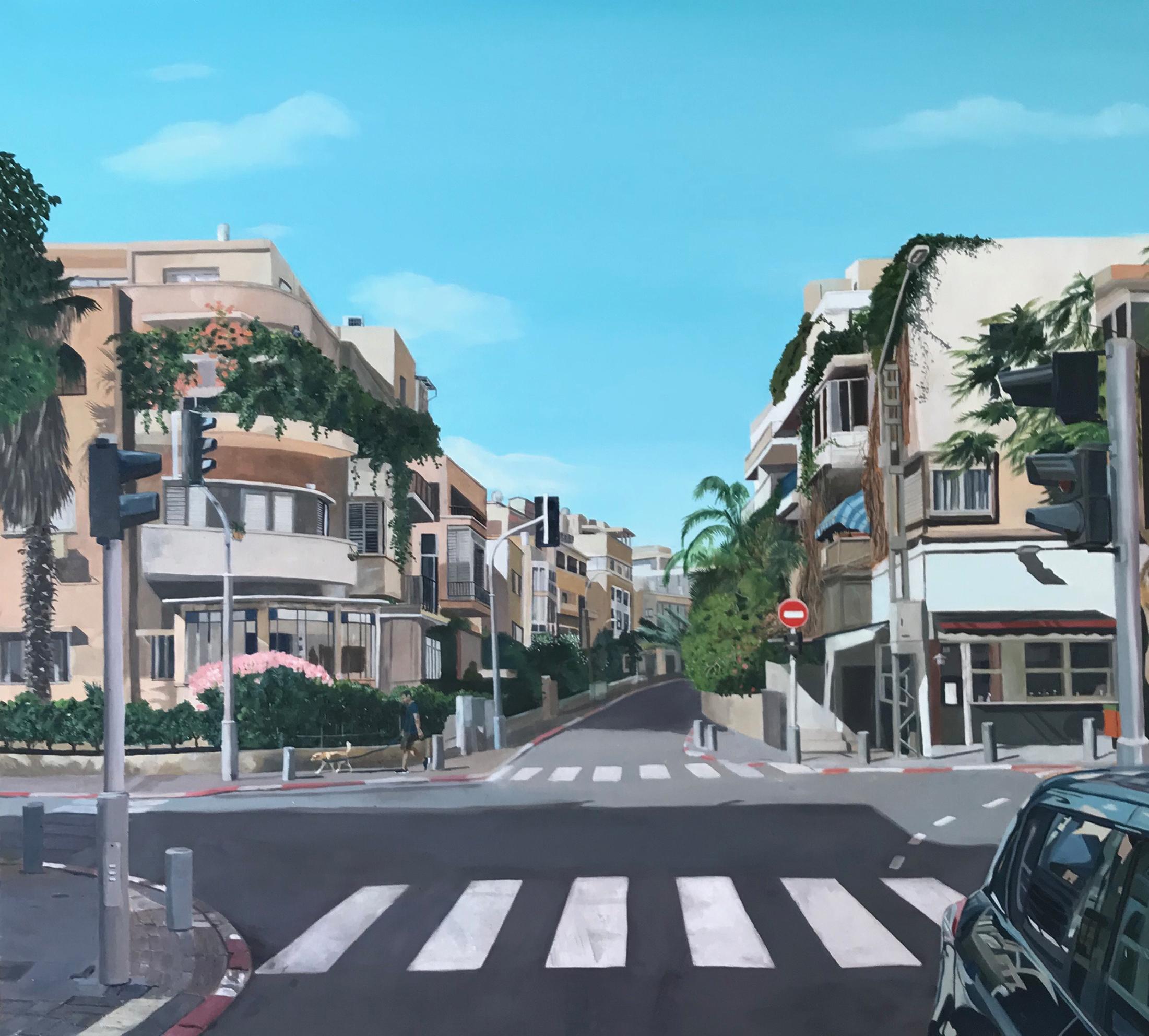 Tel Aviv, The White City V. Tel Aviv, The White City V. Zohar Flax. Jackson's Painting Prize.