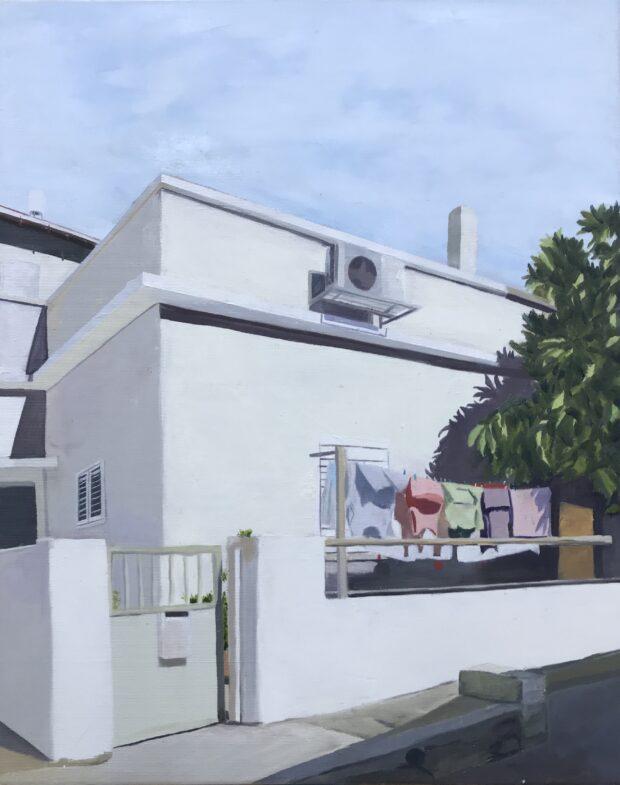 Tel Aviv, Florentin St. Zohar Flax. Jackson's Painting Prize.