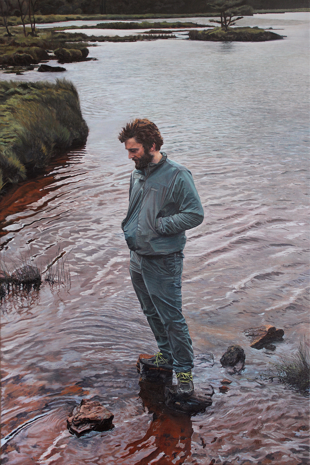 Surface Tension. James Hayes. Jackson's Painting Prize.