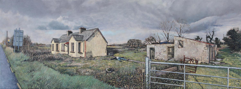 Reposing. James Hayes. Jackson's Painting Prize.