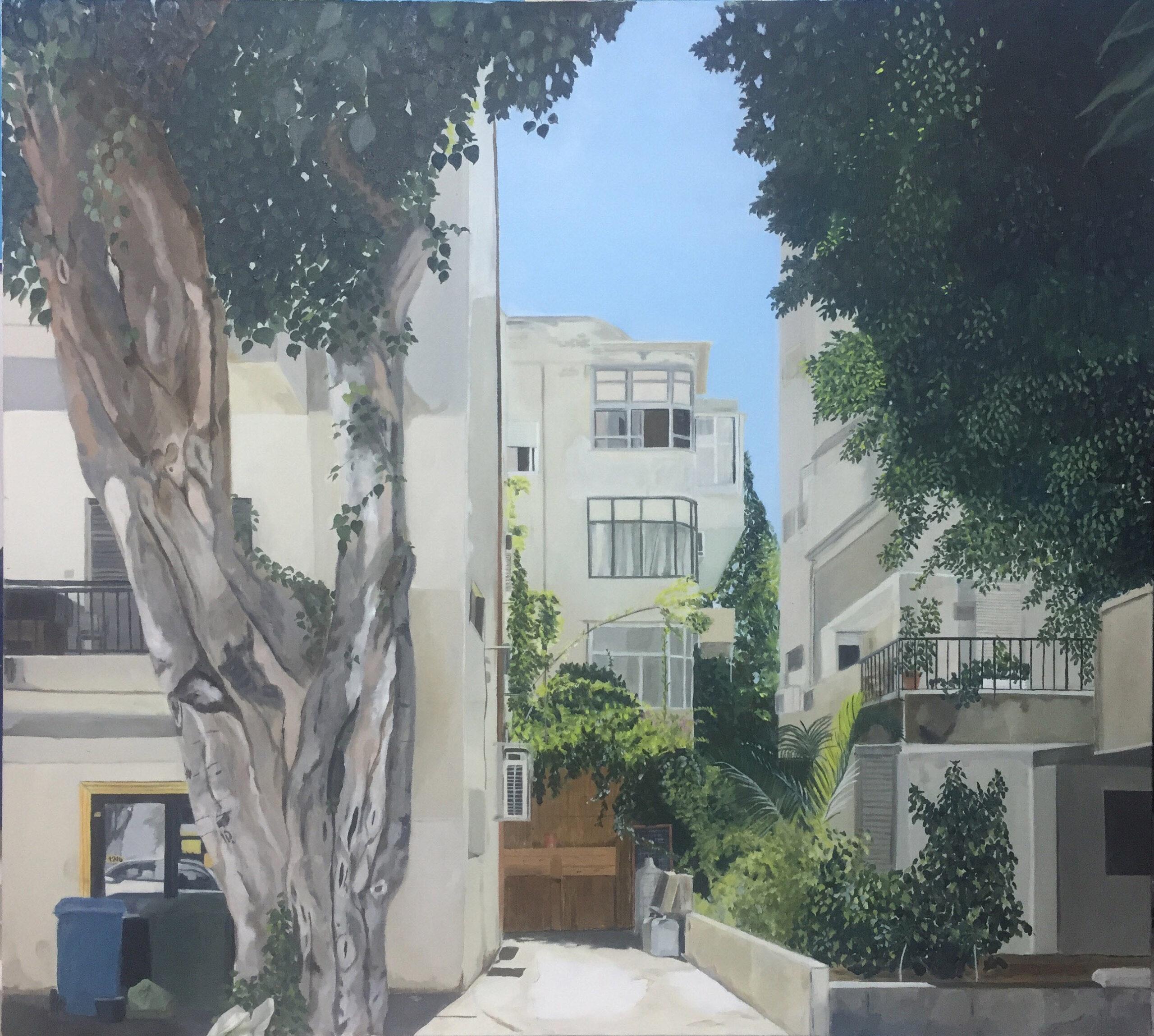 Tel Aviv White City II. Zohar Flax. Jackson's Painting Prize.