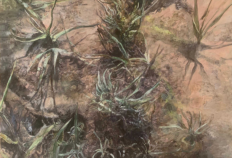 Dark Marsh Cord Grass. Judith Tucker. Jackson's Painting Prize.