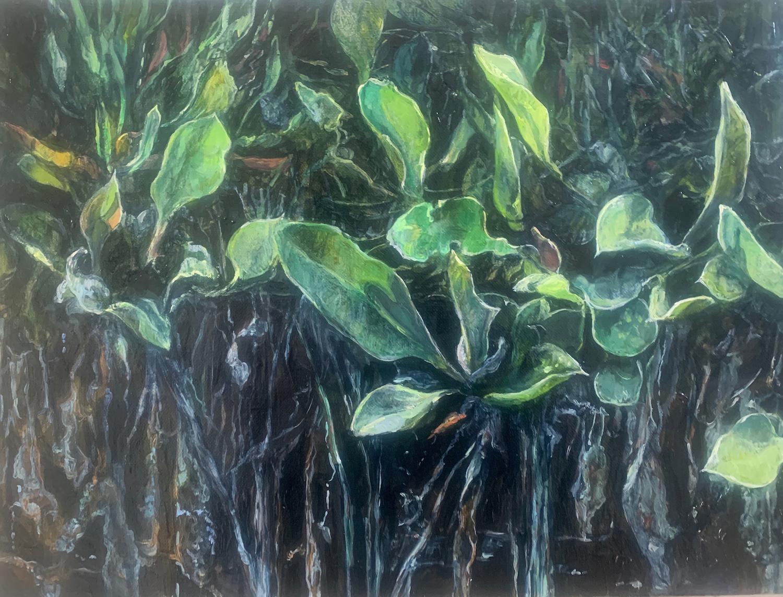 Dark Marsh Roots. Judith Tucker. Jackson's Painting Prize.