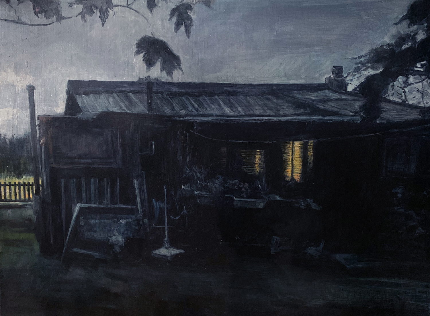 Night Fitties It really did used to be like this. Judith Tucker. Jackson's Painting Prize.