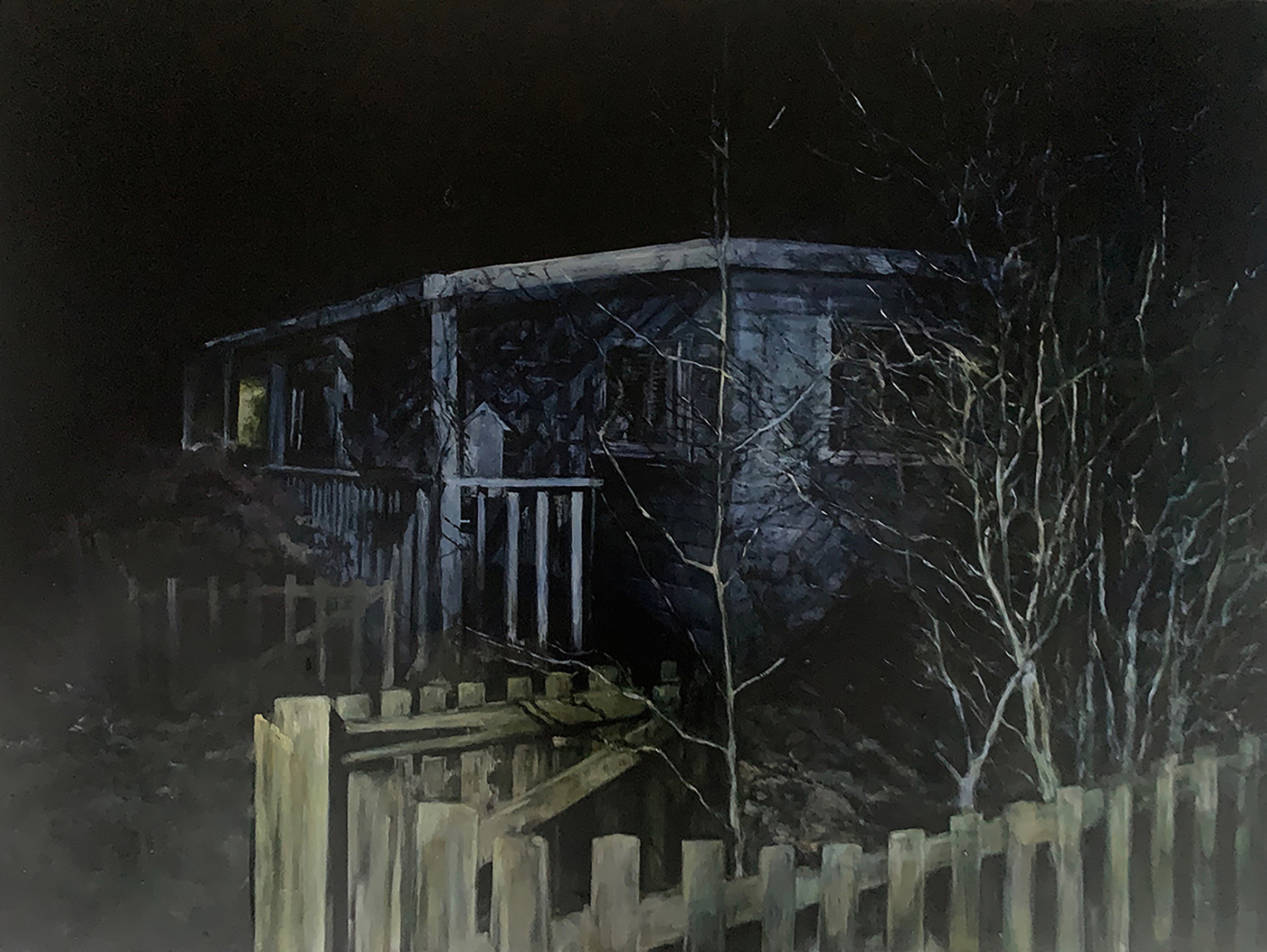 Night Fitties Nothing was here, it was all open to the beach. Judith Tucker. Jackson's Painting Prize.