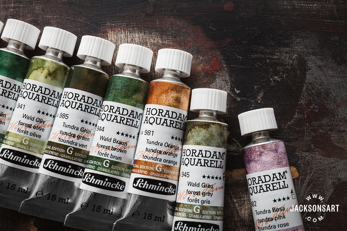 First Look At The New Colours In Schmincke S Super Granulation Watercolour Range Jackson S Art Blog
