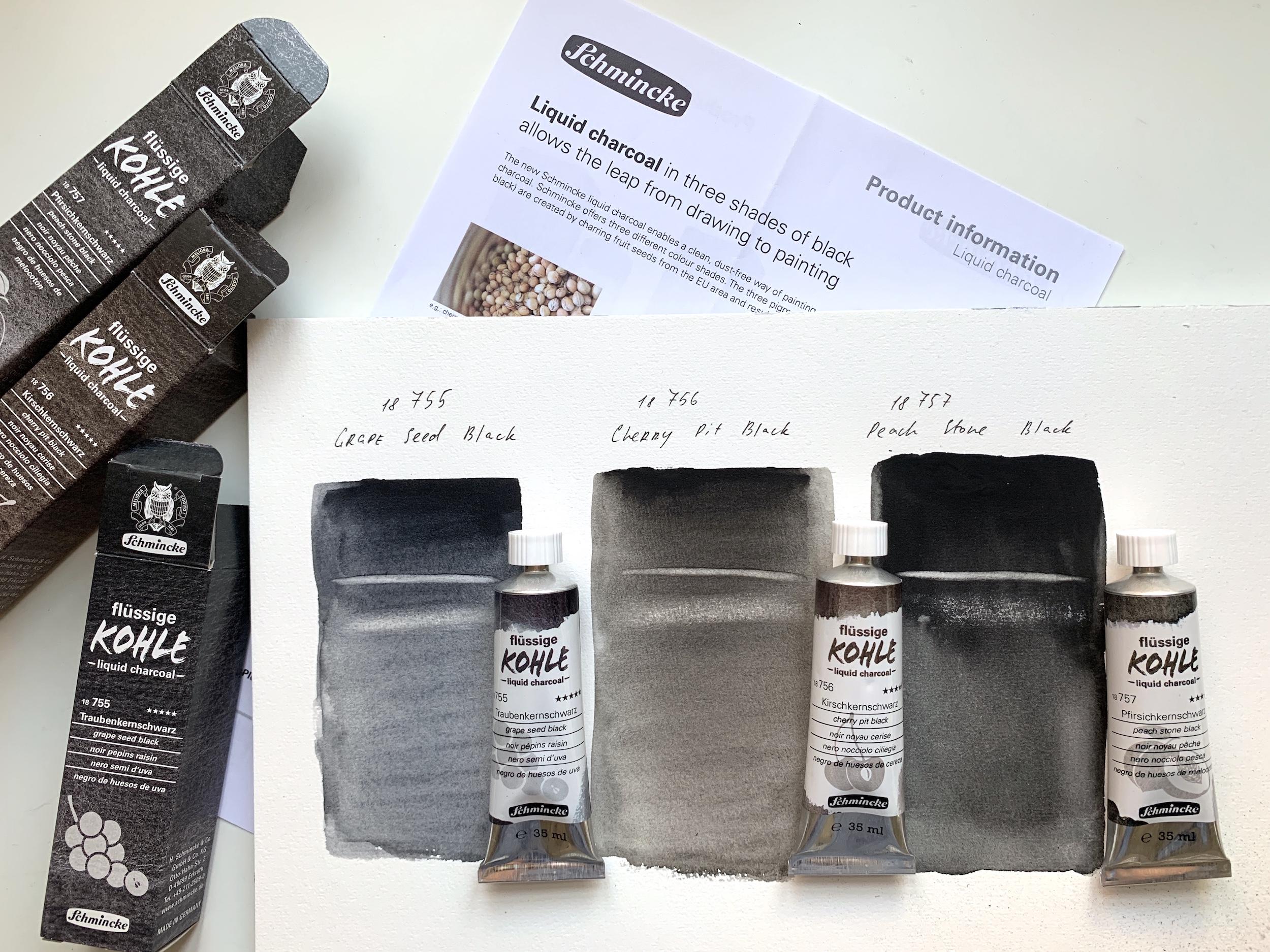 Schmincke Liquid Charcoal