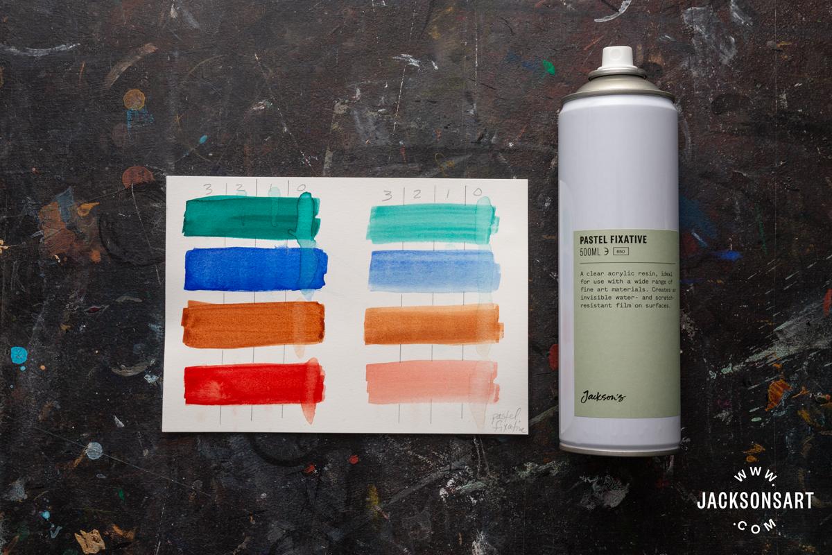 jackson's soft pastel fixative