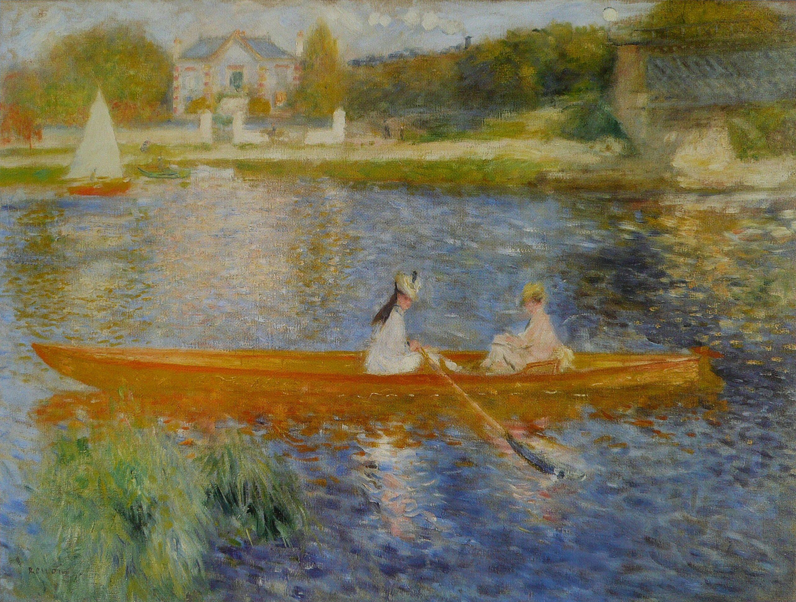 Pierre August Renoir La Yole