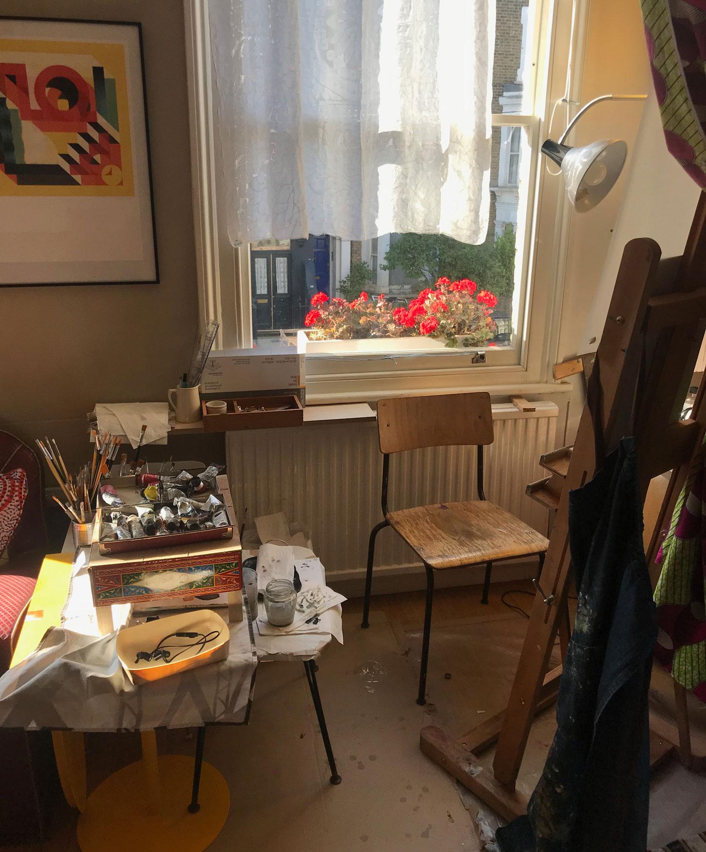 Marie's Lockdown Studio