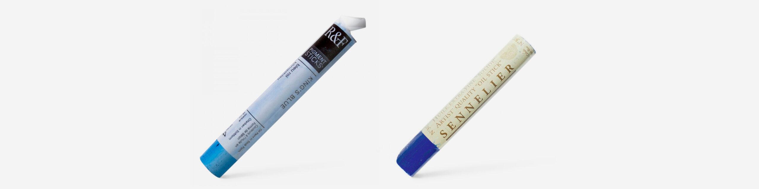 R&F Pigment Stick, Sennelier Oil Stick