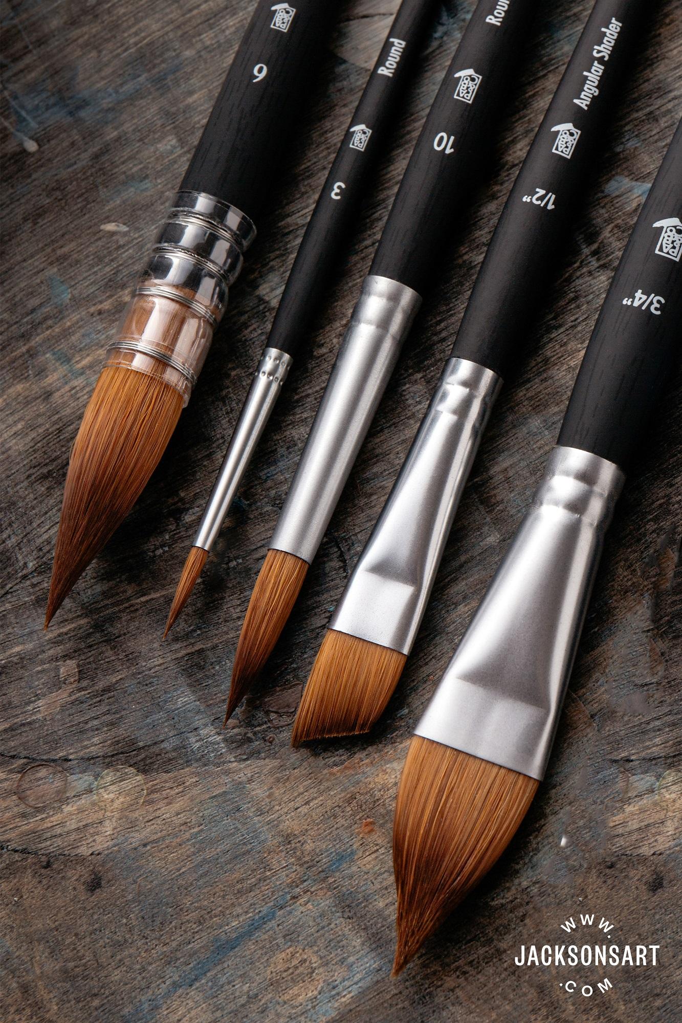 Princeton Aqua Elite Synthetic Kolinksy sable brushes