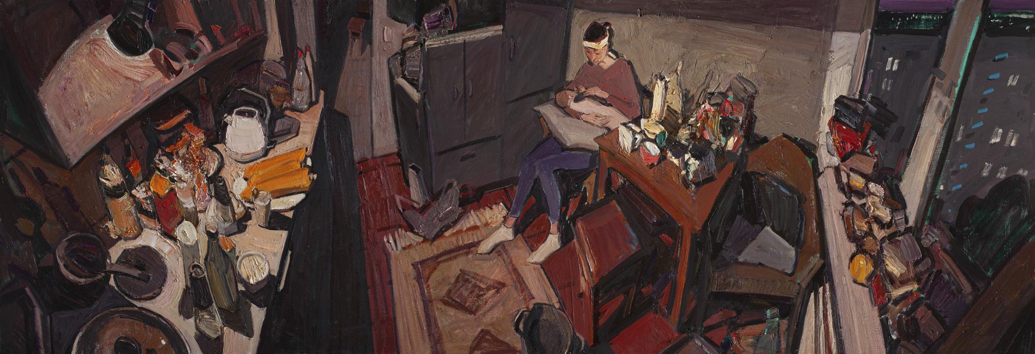Sayan Baigaliyev. Jackson's Painting Prize.