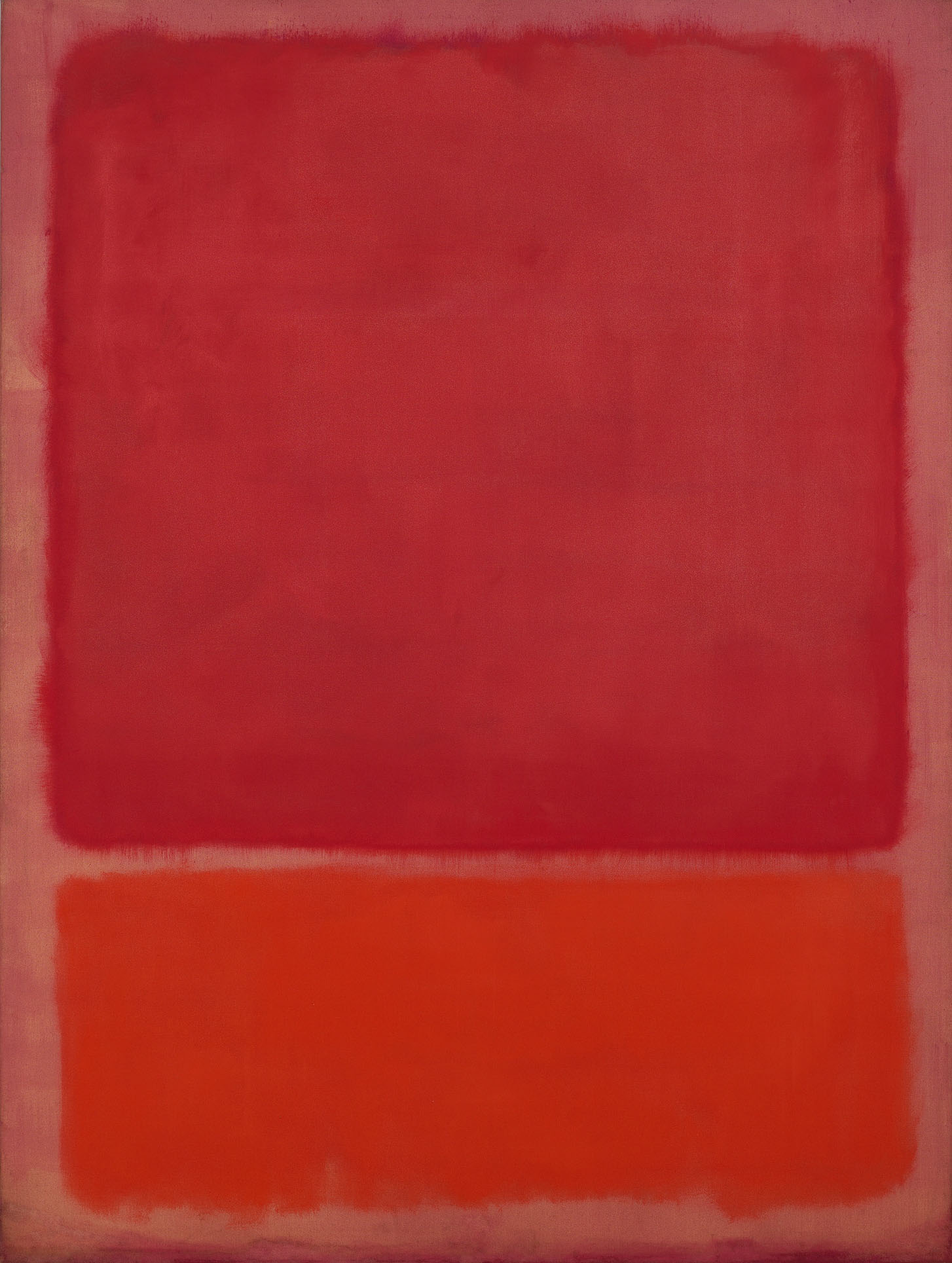 Untitled (Red, Orange), 1968 Mark Rothko Oil on canvas, 91 7/10 × 69 3/10 in | 233 × 176 cm