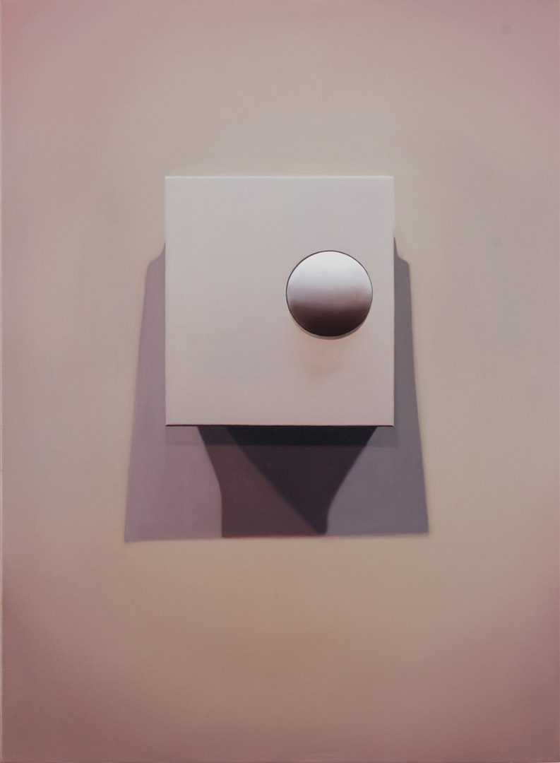 'S&S Thermostat', David Micheaud, Oil on canvas, 76 x 56 x 2 cm