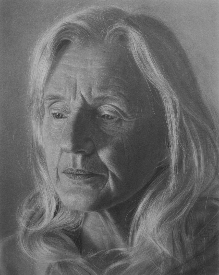 'Mother', Emma Towers-Evans, Graphite pencil, 42 x 60 cm