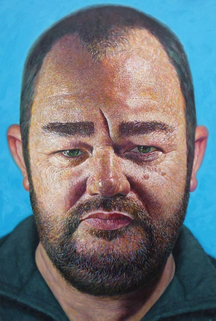 'James', Geoff Shillito, Oil on Canvas, 150 x 100 x 5 cm