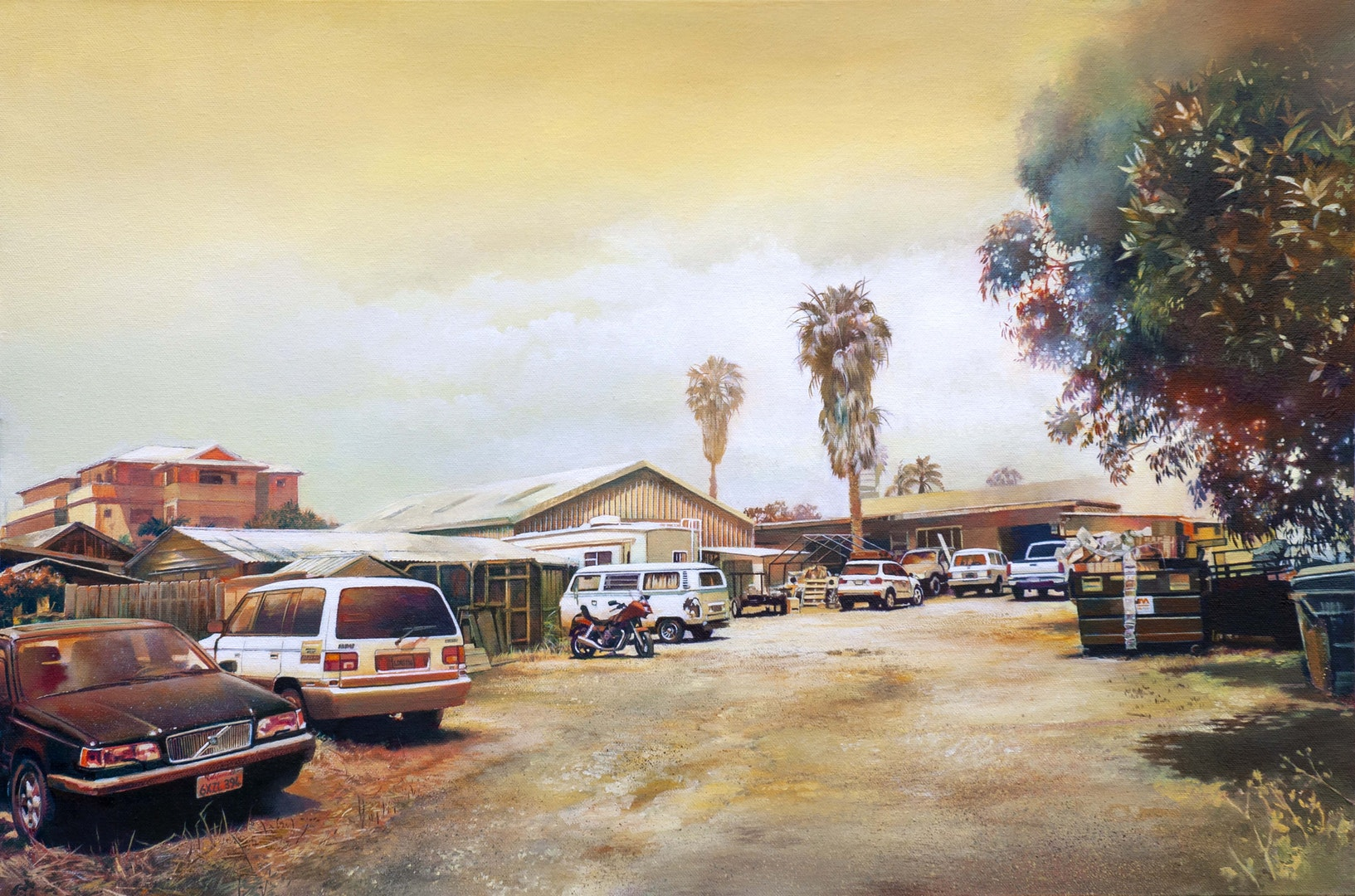 'Carlsbad', John Ball, Oil on canvas, 51 x 76 x 3.5 cm