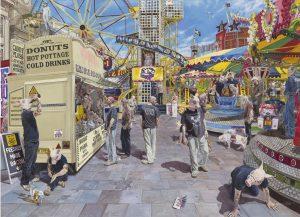 'Circean Poisons', Mark Finch, Oil on linen, 100 x 135 x 5 cm