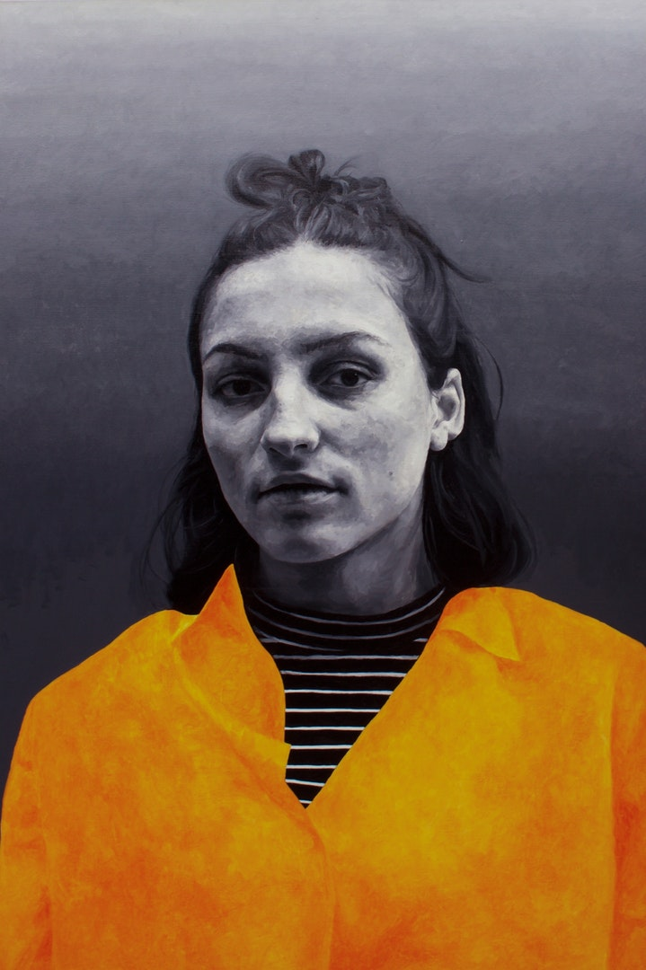 'Hazard', Matt Herriot, Oil on canvas, 182 x 121 x 6 cm