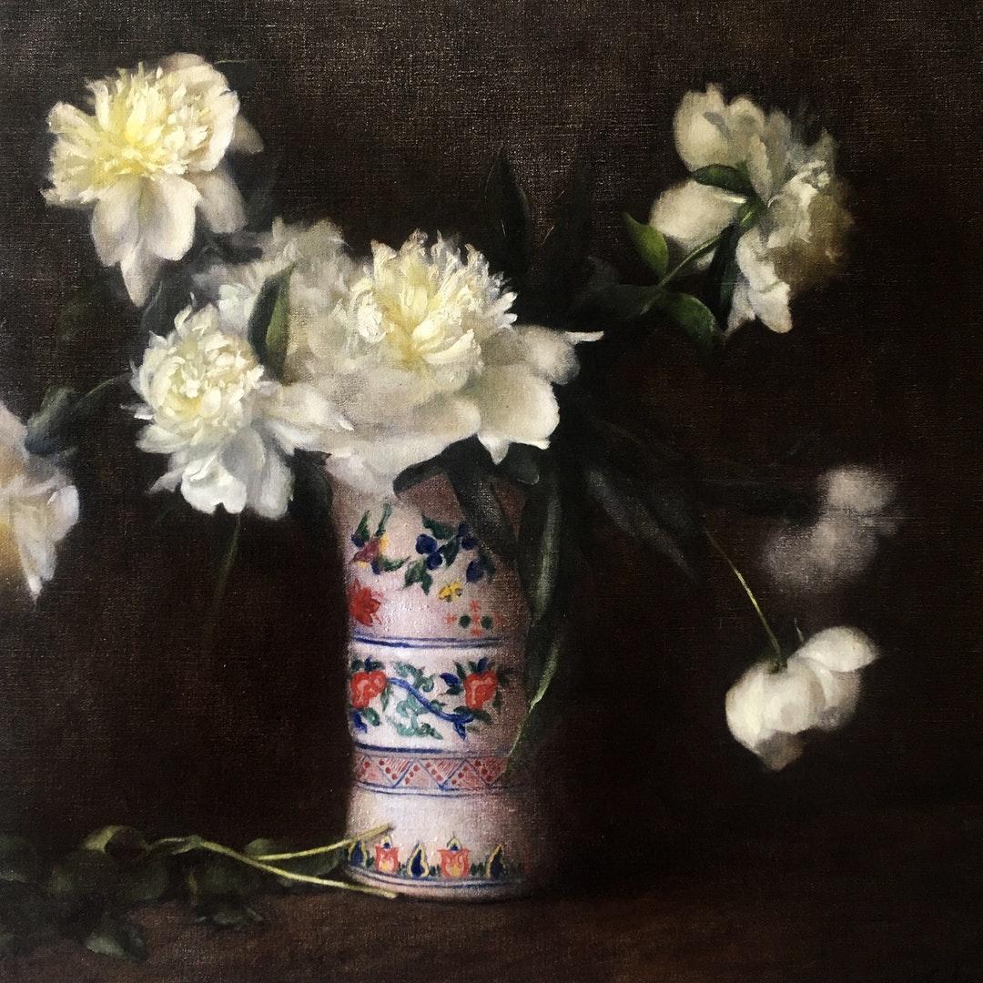 'Camellia Finlay', Nneka Uzoigwe, Oil on linen, 110 x 75 cm
