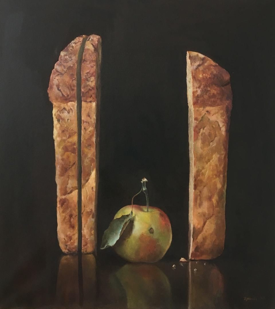 'Simple Things', Oleg Sizonenko, Oil on canvas, 100 x 90 x 2 cm